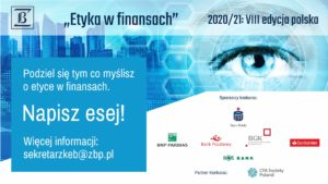 The 8th Polish edition of the Ethics in Finance Prize